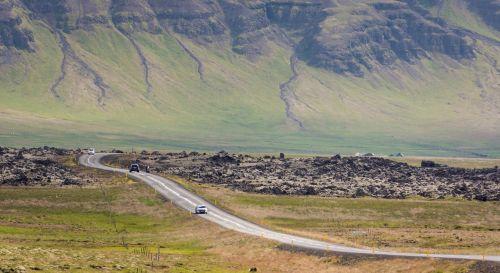 automatinis,kraštovaizdis,vulkaninis uolas,transporto priemonės,kelias,vairuoti