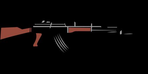 automatinis,pistoletas,kalashnikov,šautuvas,pusiau automatinis,ginklas,nemokama vektorinė grafika