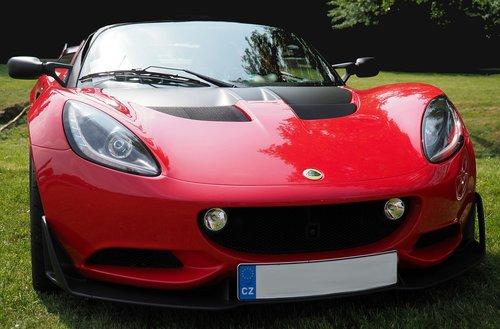 automobilių, transportas, Lotus, Elise, raudona, Automobiliai, dizainas, Asmeniniai automobilis