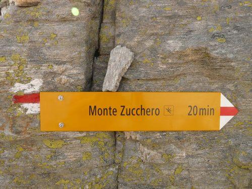 Toli, Ženklai, Katalogas, Monte Zucchero, Ticino
