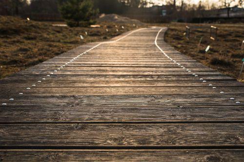 toli,internetas,kelias,medinis takas,medinės lentos,saulėlydis,abendstimmung,atmosfera,gamta,lentos,lentos kojos,lentos keliai,medinis tiltas,lentos,mediena,dusk