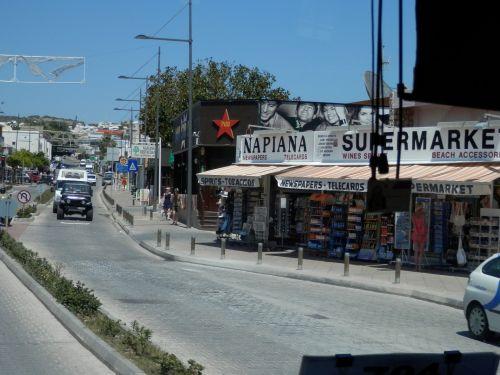Kipras, ayia & nbsp, napa, gatves, ayia napa