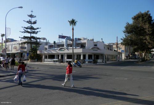 ayia & nbsp, napa & nbsp, kipras, gatvė, ayia napa, Kipras