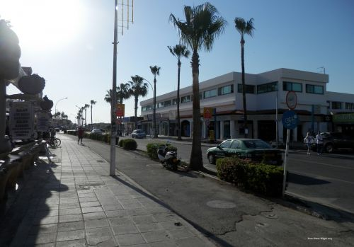 ayia & nbsp, napa, Kipras, gatvė, ayia napa