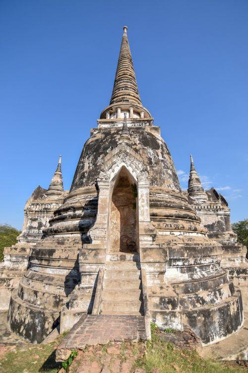 Ayutthaya,Senamiestis,senovės,senovinis miestas,wat phra sri sanphet,Tailandas,Ayutthaya senas