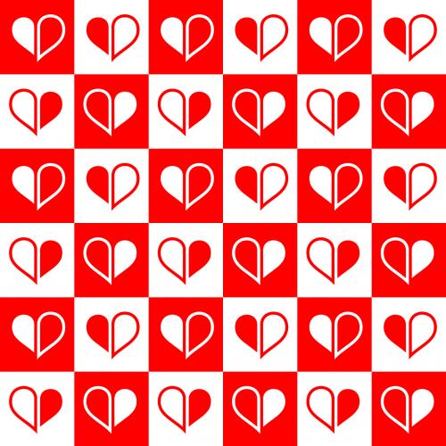 fonas,kortelė,tikrintojas,kriauklė,dekoruoti,apdaila,dizainas,elementas,šventinis,pasveikinimas,pusė,širdis,širdis,šventė,begalinis,meilė,motina,ornamentas,modelis,spausdinti,raudona,besiūliai,kvadratas,pavyzdys,tekstūra,valentine,vektorius,Vestuvės,balta,pavyzdys,mylimai,nemokama vektorinė grafika