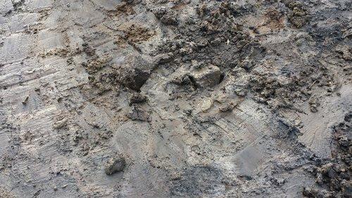 fonas, tekstūros, purvinas, geologija, modelis, molis, molio dirvožemio, ariama, Žemdirbystė, kermit, žemė, Anotacija, puodžius, medžiaga, querformat, laužas, Pasidaryk pats