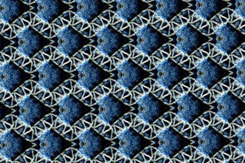 Scrapbooking, fonas, medžiaga, džinsai, fono mėlyni džinsai # 10