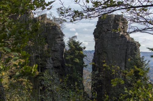 baden baden,akumuliatoriaus akmuo,baterija,Stonehill,kalnai,kraštovaizdis,gamta,sluoksnis,kalvotas,atmosfera,miškas,nuotaika,ruduo