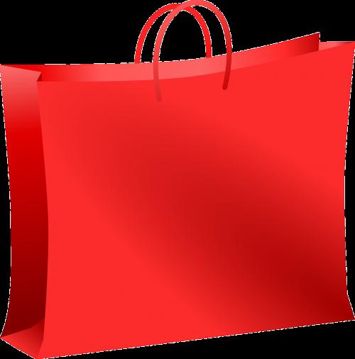 maišas,prekybos centras,raudona,apsipirkimas,pernešimo krepšys,vežimėlio maišelis,pirkinių krepšys,nešiotis,tote bag,nemokama vektorinė grafika