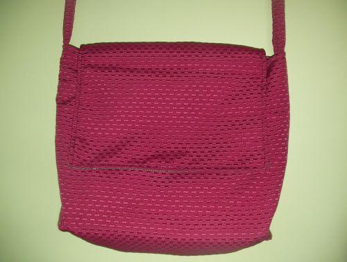 maišas,rankinė,raudona