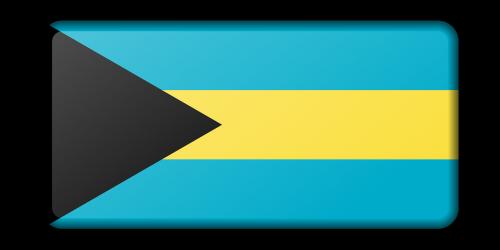 Bahamos,reklama,apdaila,vėliava,ženklas,signalas,simbolis,nemokama vektorinė grafika