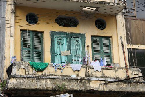 balkonas,Vietnamas,Hanojus