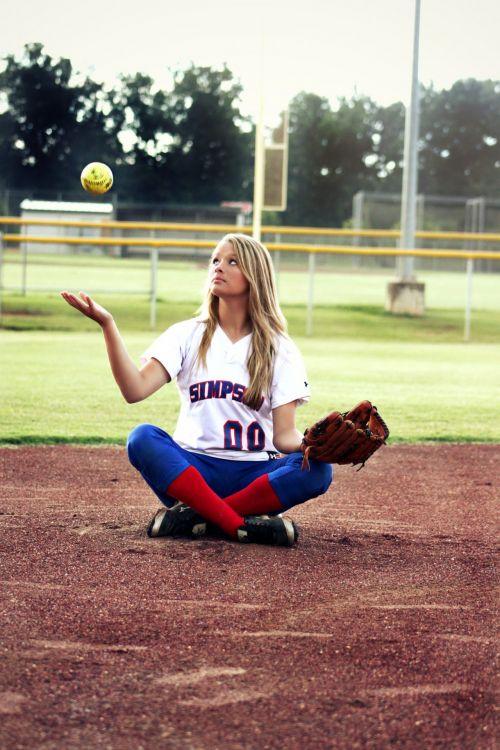 mergaitė, žaidėjas, futbolas, Moteris, lauke, kamuolys žaidėjas