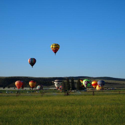 balionai,festivalis,panguitch,Utah,paleisti