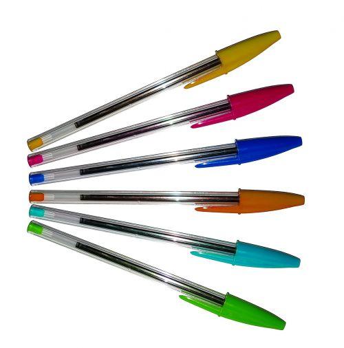 šratinukas,rašiklis,spalvos