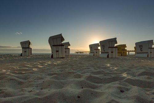 Baltijos jūra, paplūdimio kėdės, vasaros atostogos, vasaros atostogos, atostogos, jūra, papludimys, Paplūdimio atostogos, saulė, atsipalaiduoti, kopa