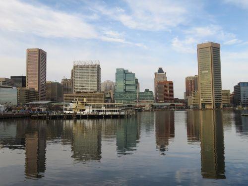 baltimore,atspindys,vanduo,pastatas