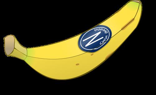 bananas,vaisiai,geltona,paženklinta etikete,maistas,mityba,nemokama vektorinė grafika