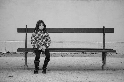 bankas,vaikas,mergaitė,vaizdas,sėdėti,spustelėkite
