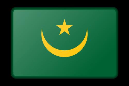 reklama,apdaila,vėliava,Mauritanija,ženklas,signalas,simbolis,nemokama vektorinė grafika