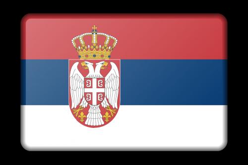 reklama,apdaila,vėliava,Serbija,ženklas,signalas,simbolis,nemokama vektorinė grafika
