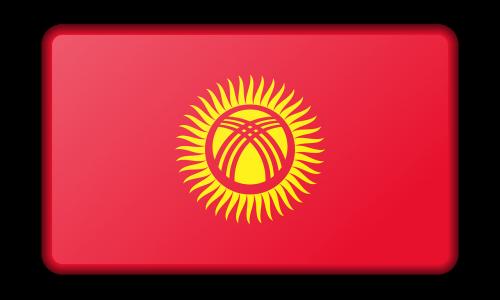 reklama,apdaila,vėliava,Kirgizija,ženklas,signalas,simbolis,nemokama vektorinė grafika