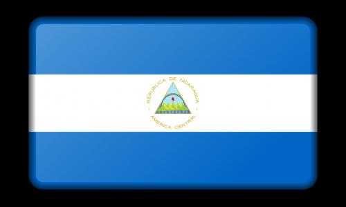 reklama,apdaila,vėliava,Nikaragva,ženklas,signalas,simbolis,nemokama vektorinė grafika
