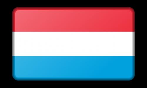 reklama,apdaila,vėliava,liuksemburgas,ženklas,signalas,simbolis,nemokama vektorinė grafika