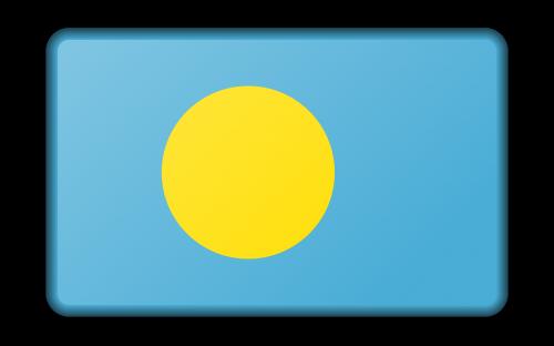 reklama,apdaila,vėliava,Palau,ženklas,signalas,simbolis,nemokama vektorinė grafika