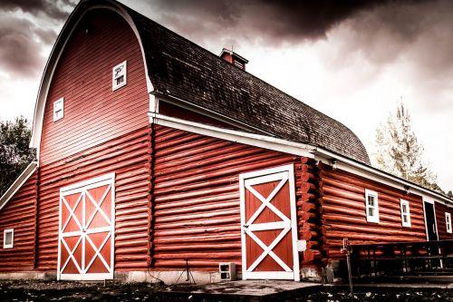 tvartas,raudona,kaimas,ūkis,raudonasis svirnas,Šalis,mediena,Žemdirbystė,kaimas,ūkininkavimas