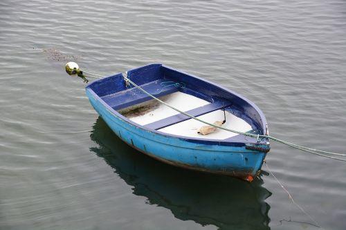 valtis, apmąstymai, vanduo, ežeras, mėlynas, medinė & nbsp, valtis, ramybė, valtis ant vandens