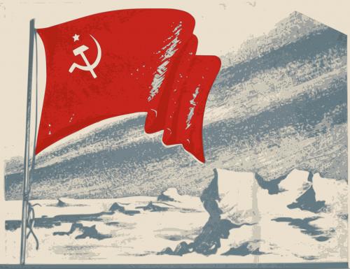 pagrindinis,desolate,vėliava,senas,Rusija,sovietinė,nemokama vektorinė grafika