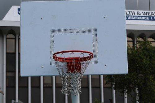 Krepšinis, lauke, aukščiausias, Sportas, krepšys
