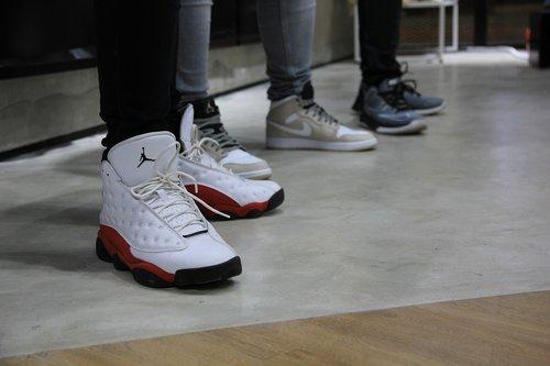 Krepšinis, avalynė, Sneaker, Air Jordan, Jordan, KREPŠELĮ, baltos spalvos, Sportas