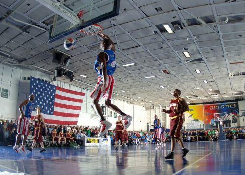 krepšinis,harlemio globetrotters,žinomas,žinomas,įžymybės,sportas,teismas,žiūrovai,gerbėjai,žaidėjai