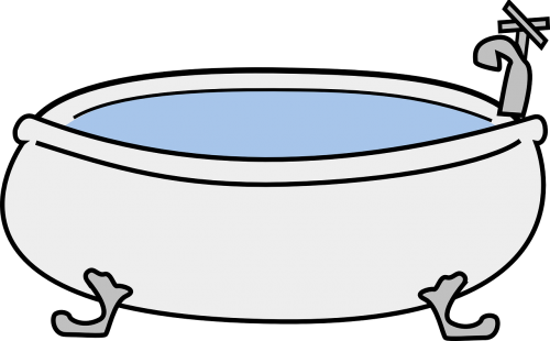 vonia,vonia,vonia,burbuliukai,kojos pėdos,vonia,nemokama vektorinė grafika