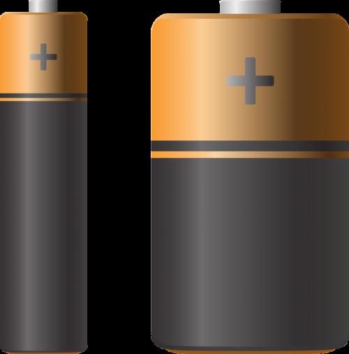 baterija,aaa baterija,aa baterija,elektrinis,nemokama vektorinė grafika