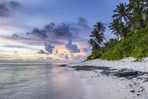 papludimys,atogrąžų,kranto linija,rojus,vanduo,dangus,smėlis,kranto