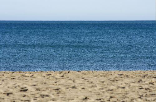 papludimys,horizontas,apleistas,praia mansa,costa,jūra,dangus,smėlis,pakrančių kraštovaizdis,Krantas