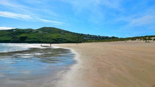 papludimys,šventė,jūra,užsakytas,smėlio paplūdimys Barleycove paplūdimys,Airija,apskrities kamštiena,smėlis,kranto,атлантический,bankas,krantus,atostogos,dangus,atsipalaiduoti,vanduo,bangos jūroje