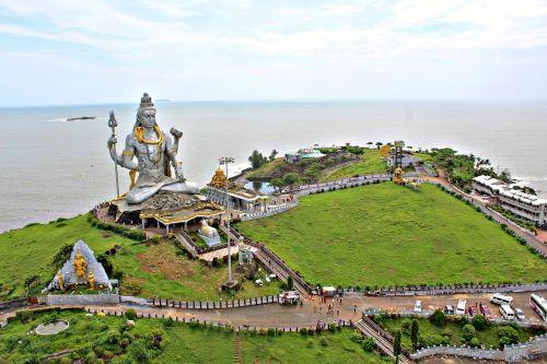papludimys,oro vaizdas,murudeshwar,Karnataka,Indija,incredibleindia