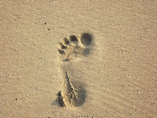 papludimys,pėdos spauda,smėlio spausdinimas,pėdos,basas,vasara,smėlis,pėdos,žmogus
