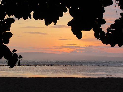 papludimys,saulėtekis,saulėlydis,jūra,vanduo,kraštovaizdis,smėlis,Indonezija,sanur,gamta,atogrąžų,žemės plovimas,saulė