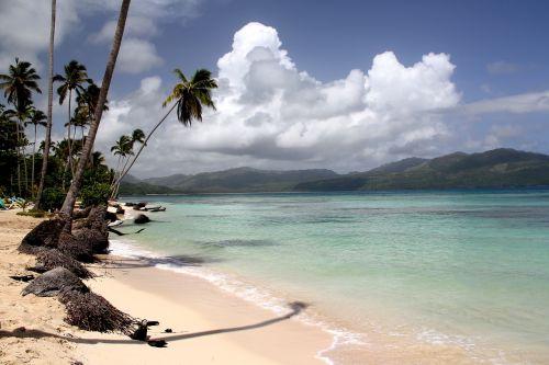 papludimys,delnas,karibai,Dominikos respublika,baltas smėlis,balto smėlio paplūdimys smėlio paplūdimys rojus,Karibų jūra,turkis,jūra,vanduo