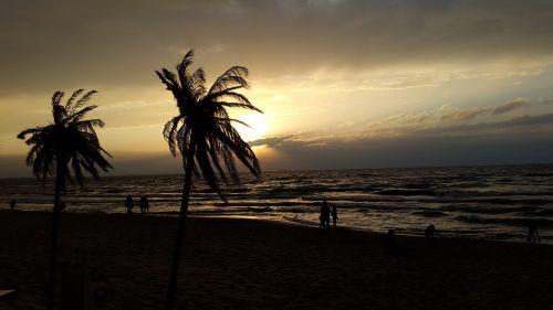 papludimys,delnas,jūra,saulėlydis,šventė,karibai,Pietų jūra,Dominikos respublika,egzotiškas,vanduo,Lenkija,Baltijos jūra,międzyzdroje