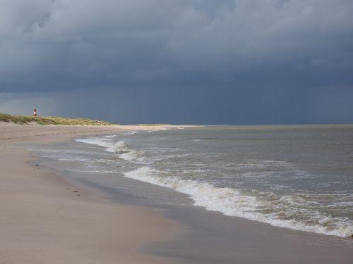 papludimys,jūra,banga,smėlio paplūdimys baltas paplūdimys,švyturys,raudonos ir baltos juostelės,sąrašas ost,švyturių sąrašas,sylt,alkūnė