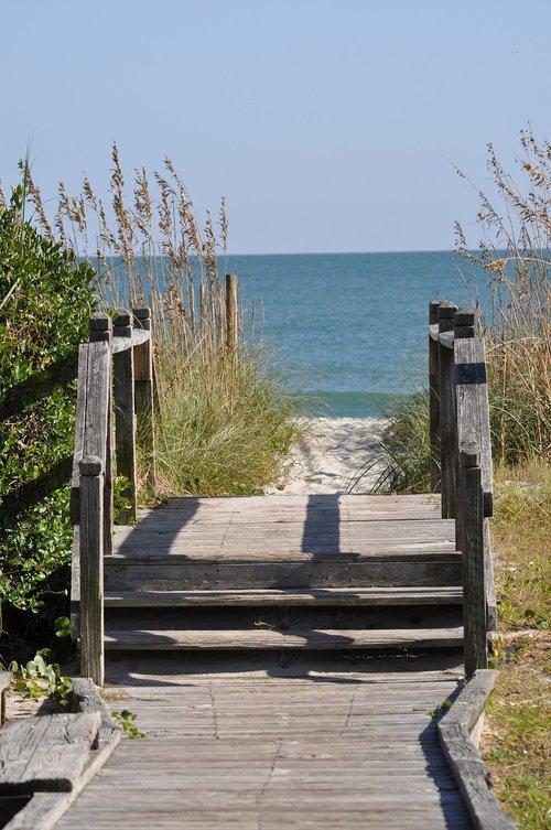 papludimys, vasara, kelionė, Vandenyno kelias, vaizdingas, taika, giedras