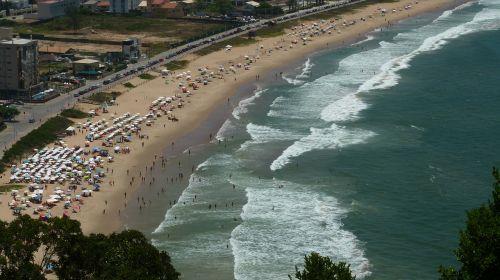 paplūdimys,Brazilija brava paplūdimys,itajaí,santa catarina,Royalty Free