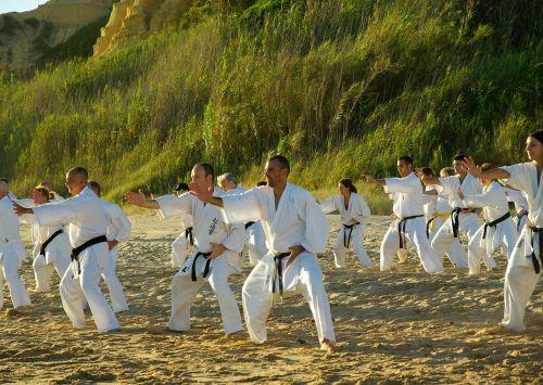 papludimys,sportas,karatė,kimonai,mokymas